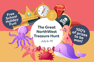 The Great NorthWest Treasure Hunt