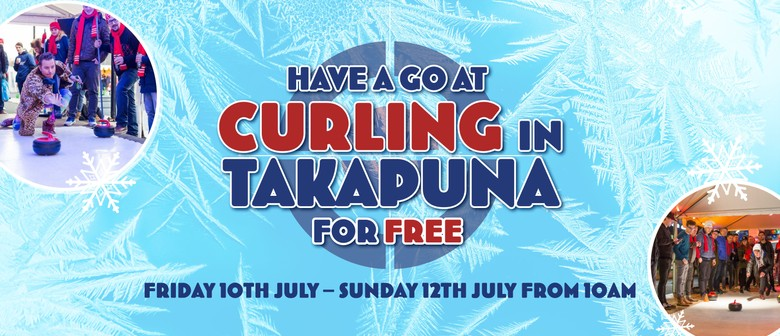 Curling with I Love Takapuna