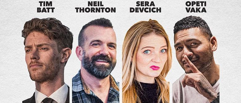 The Wellington Comedy Club - July