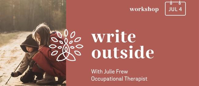Write Outside: Developing Handwriting Skills In Nature
