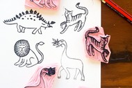 Make Together: Create Your Own Stamp!