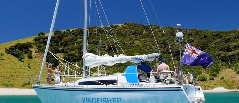 Moturua Island Song- Sailing on the Yacht Kingfisher- Walk 7