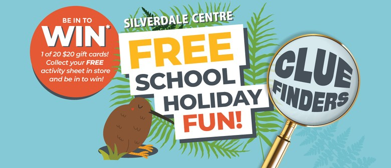 Calling All Clue Finders - School Holiday Fun
