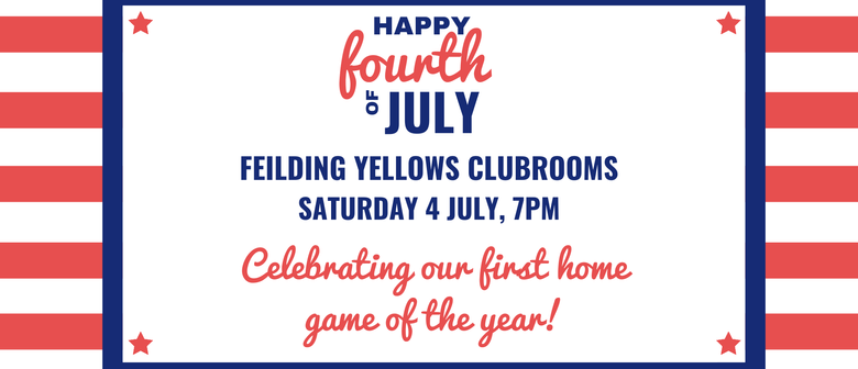 Feilding Yellows Fourth of July