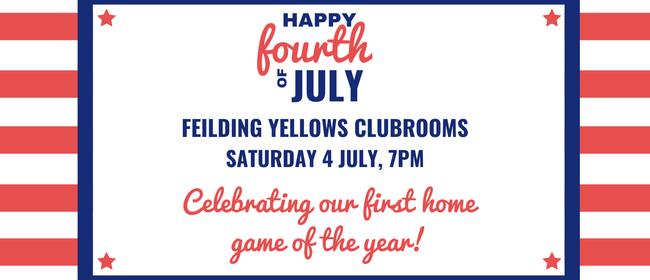 Feilding Yellows Fourth of July