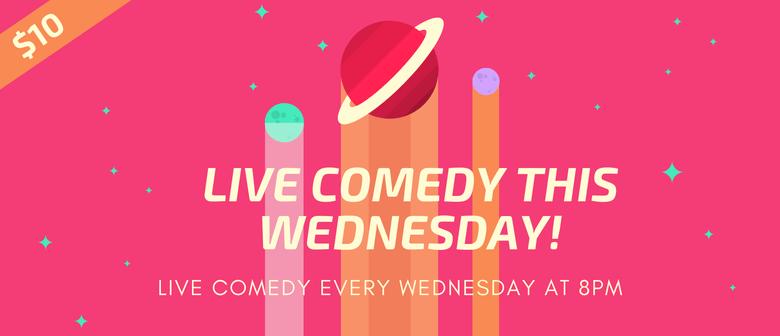 Live Comedy - Ten Dollar Tabac Wednesdays