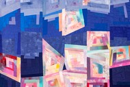 """Unfolded"" Quilt Retrospective By Val Cuthbert"
