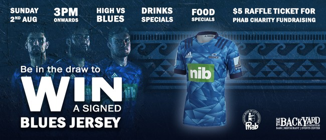 "Blues ""Signed"" Jersey Charity Raffle"