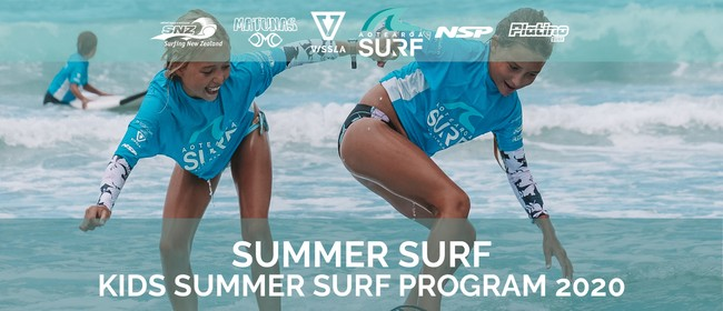 Kids Summer Surf Program (Ages 6-15)