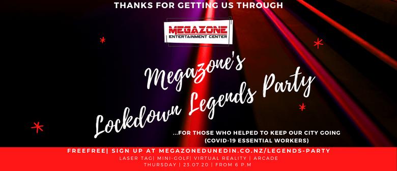 Megazone's Lockdown Legends Party
