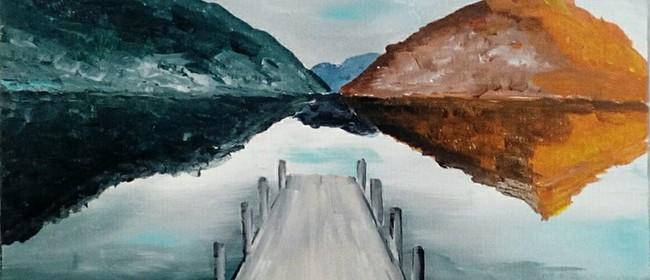 Paint and Wine Night - The Wharf