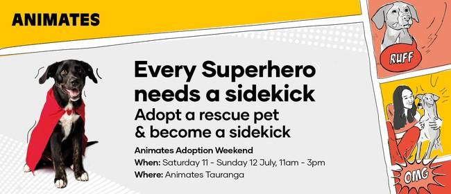 Pet Adoption Weekend