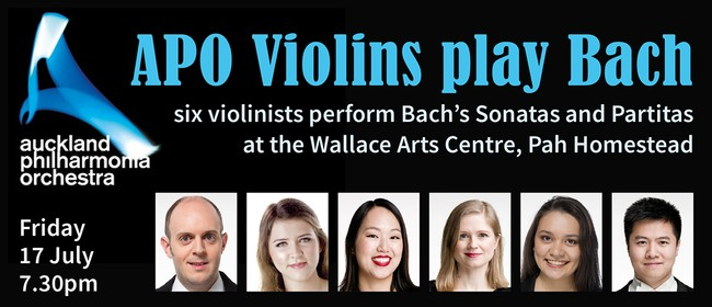 APO Violins Play Bach: SOLD OUT