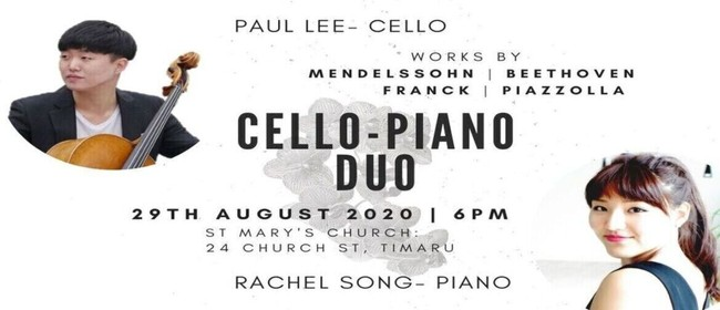 Cello-Piano Duo Concert: Paul Lee with Rachel Song