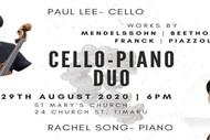 Cello-Piano Duo Concert: Paul Lee with Rachel Song