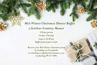 Mid-Winter Christmas Buffet at Settlers Country Manor