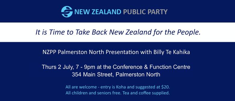 New Zealand Public Party with Billy Te Kahika