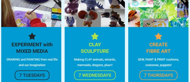 Art Classes - Term 3 - Creative Kid's Art Lab