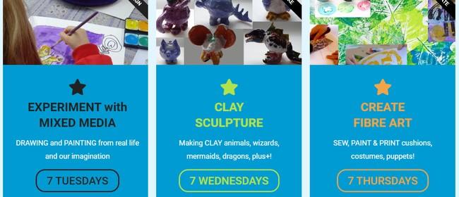 Art Classes - Term 3 - Creative Kid's Art Lab