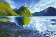 Wine and Paint Party - Milford Sound Painting