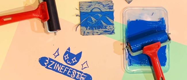 Zine Lino Printmaking Workshop