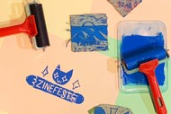 Zine Lino Printmaking Workshop