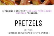 Pretzel Making For Kids (7years+)
