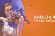 Amalia Hall with Stephen De Pledge