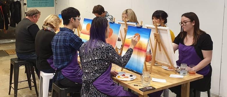 Paint & Drink - Rising Sun