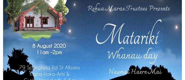 Rehua Marae Matariki Whanau Day
