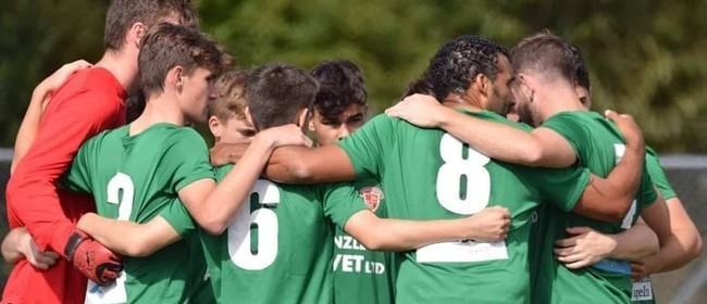Wairarapa United Men v Petone