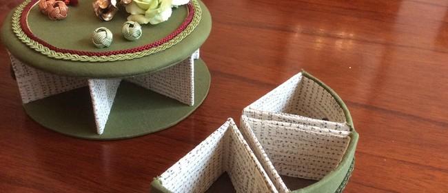 Cartonnage - Kimono Covered Boxes