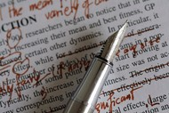 Editing Your Creative Writing