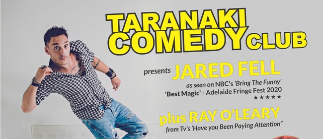 Taranaki Comedy Club - August