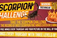 Scorpion Hot Wing Challenge