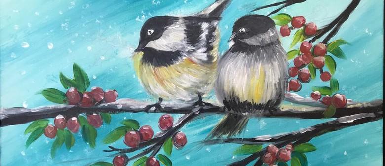 Paint & Chill Saturday Night - Joyful Season