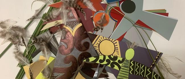 Decorate Your Own Manu (Bird) Kite