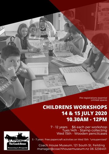 Children's Workshop - Stamp Collecting