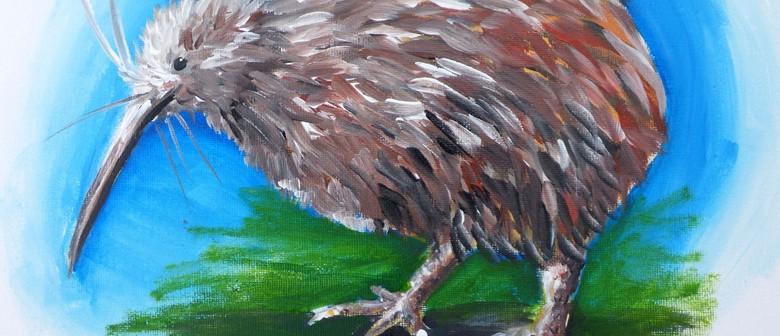 Paint and Wine Night - Kiwi
