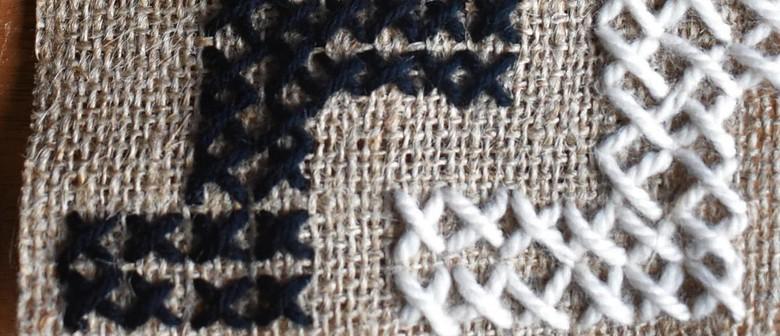 Workshop: Tuia (Stitched Art Inspired By Tukutuku)