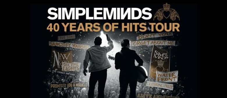 Simple Minds With Special Guests OMD