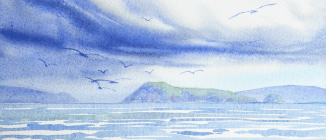 July School Holiday Art Classes - Storm Matiu/Somes Island