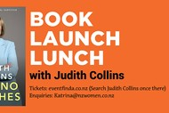 Judith Collins - Pull no Punches Lunch Event