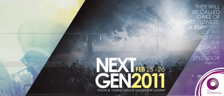 Next Gen: Youth & Young Adults Leadership Summit