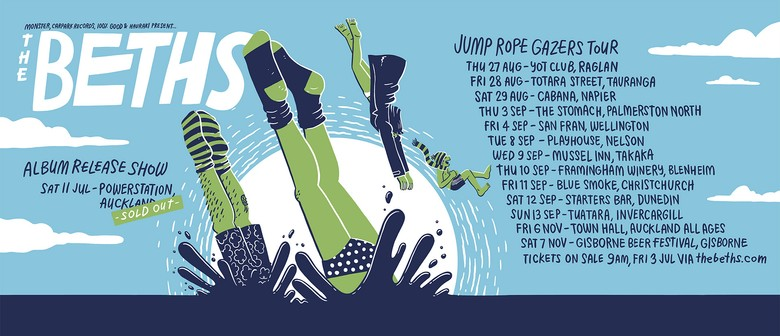 The Beths - Jump Rope Gazers Tour : SOLD OUT