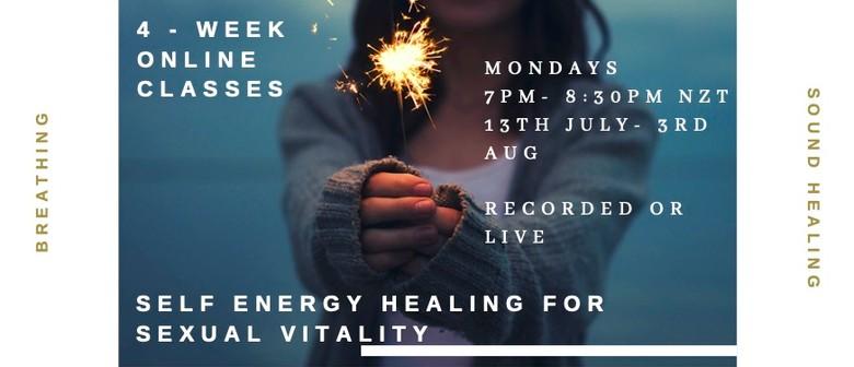 Self-energy healing for Sexual Vitality (Women)
