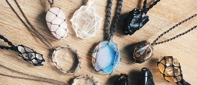 Macrame Gemstone Necklace Workshop