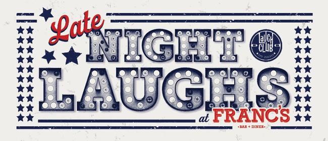 Paul Ego Late Night Comedy @ Franc's Takapuna