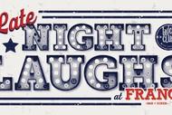 Brendhan Lovegrove Late Night Laughs @ Franc's Takapuna