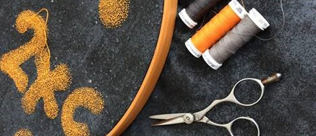 Stitching Concrete: Embroidery Workshop with Jay Hutchinson: SOLD OUT